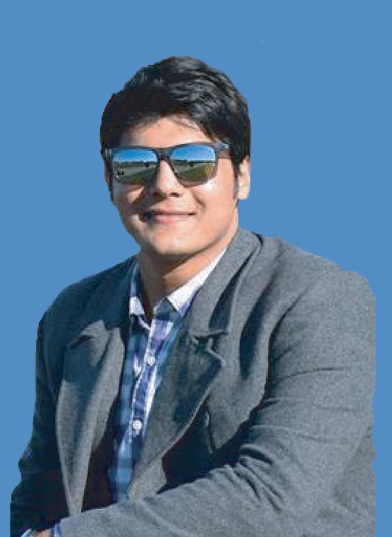 Shailesh Singhal, president, St Joseph's College Students' Union