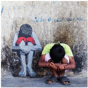 Hide but No Seek, Artist- Alias, Location - Araku Valley, Visakhapatnam