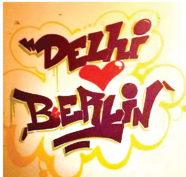 Delhi Love Berlin, Artist- Kajal Singh, Location- German Consulate Mumbai