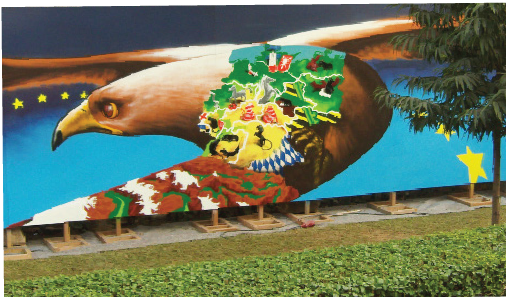 German Zoo, Artist- Loomit, Location - German Embassy New Delhi