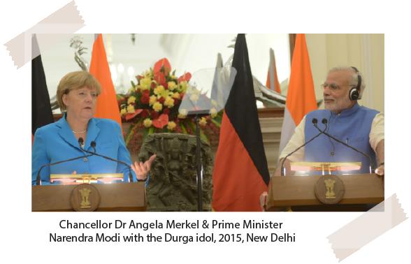 Chancellor Dr Angela Merkel & Prime Minister Narendra Modi