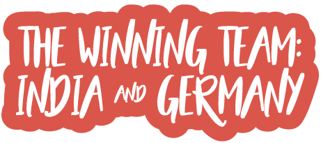 The Winning Team: India & Germany
