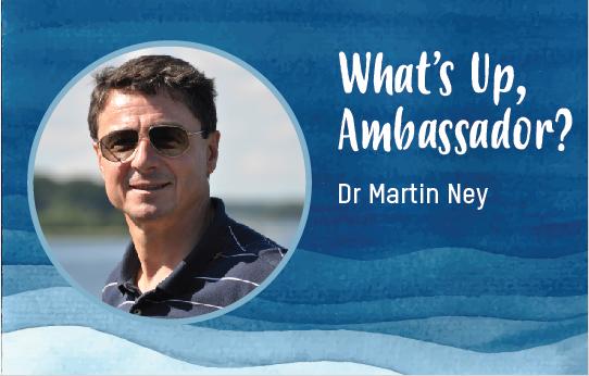 Dr. Martin Ney, German Ambassador to India