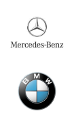Mercedes-Benz, BMW