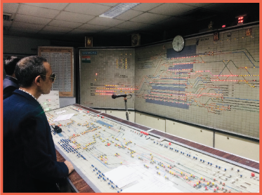 Siemens signalling system, New Delhi Railway Station