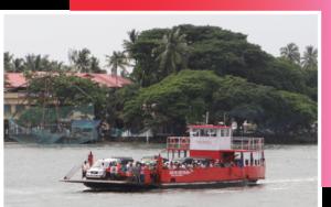 An energy-efficient ferry in Kochi