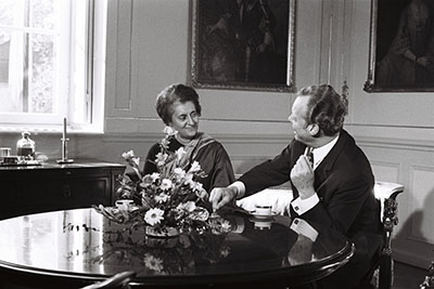 Prime Minister Indira Gandhi and Chancellor Willy Brandt (1971)