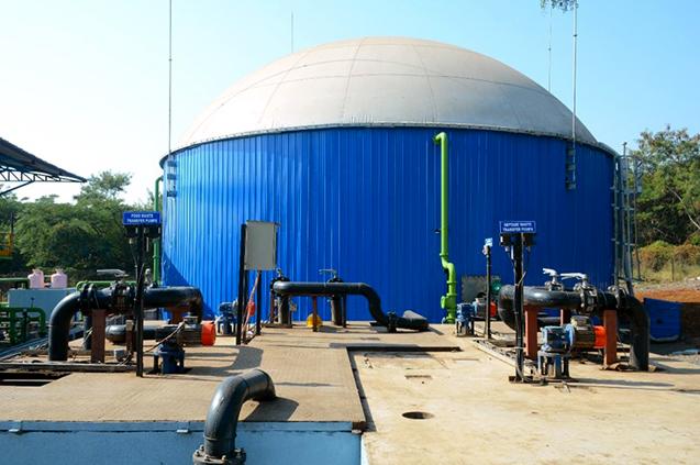 The waste-to-energy plant, Nashik
