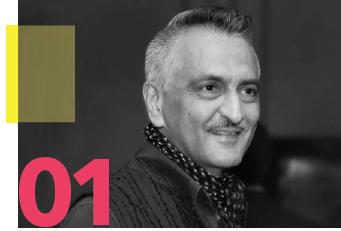 Rakesh Thakore, design director, Abraham & Thakore